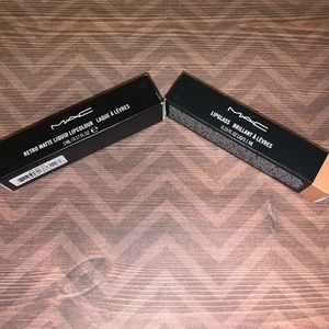 Mac Cosmetics oh baby and High drama lip products